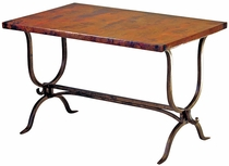 Alexandria Desk with Copper Top