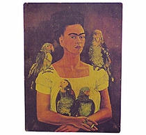 Antiqued Medium Frida Retablo Prints - Assorted