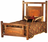 Beds & Headboards - Copper - Old Wood - Forged Iron