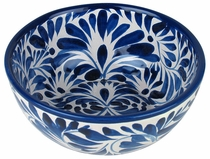 Blue & White Talavera Cereal Bowl