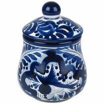 Blue & White Talavera Sugar Bowl