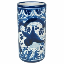 Blue & White Talavera Water Glass