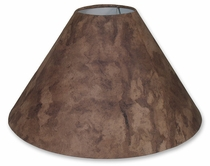Brown Amate Bark Paper Lamp Shades