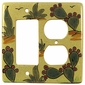 Cactus Talavera Ceramic Rocker & Outlet Cover