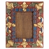 Carved and Painted Wooden Picture Frame - For 5 x 7