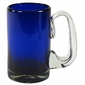 Cobalt Blue Mexican Beer Mugs - Set of 4
