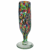 Confetti Mexican Champagne Flutes - Set of 4