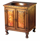 Copper Sinks - Rustic Cabinets and Sink Stands