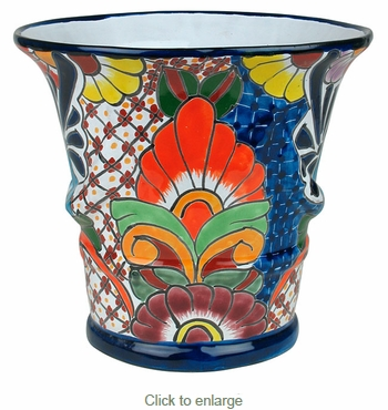 Cord Talavera Flower Pot