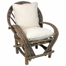 rustic bentwood   twig furniture Willow Twig Chairs Rattan Twig Chairwith Seat