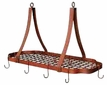Country Kitchen Copper Pot Rack
