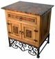 Country Nightstand with Emily Base