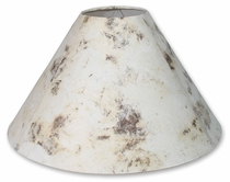 Cream Amate Bark Paper Lamp Shades