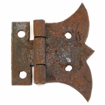 Crown Rustic Door Hinge - Pack of 4