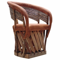 Cushioned Seat Twig Back Equipale Chair