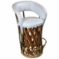 Cushioned Cancun Equipale Bar Stool