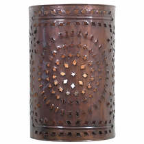 Darkened Copper Wall Sconce
