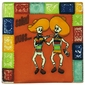 "Day of the Dead ""Cheers"" Tile - 15 Tiles"