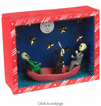 Day of the Dead Last Voyage Diorama