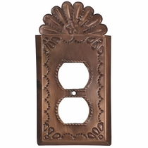 Decorative Outlet Cover - Star with Crown
