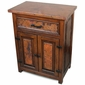 Deer Valley Nightstand with copper