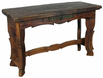 Diagonal Leg Ox Yoke Sofa Table