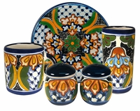 Dolores Pattern Group - Talavera Tableware