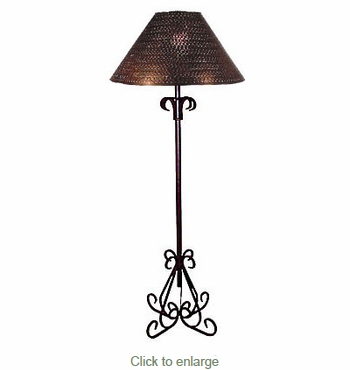 Elegant Iron Floor Lamp