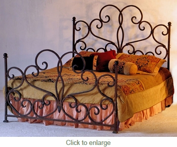 Emily Forged Iron Bed
