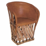 Delicieux Equipale Barrel Chair
