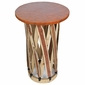 Equipale Tall Round Side Table