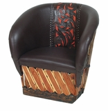 Equipale Tanned Cowhide Leather Furniture