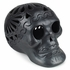 Extra Large Black Clay Skull