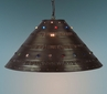 Extra Large Punched Tin Hanging Shade with Marbles