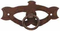 Forged Iron Mask Drawer Handle - Pack of 4