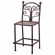 Fuente Back Iron Bar Stools - Set of 2