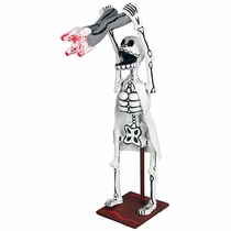 Skeleton Dentist - Paper Mache Action Sculpture