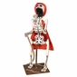 Skeleton Fireman - Mexican Day of the Dead Sculpture