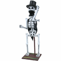 Skeleton Groom - Day of the Dead Sculpture