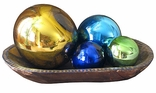 Glass Gazing Balls and Globes