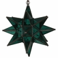 Green Glass Star Light