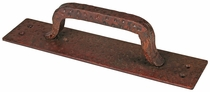 Hammered Iron Rusty Door Handle