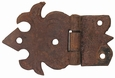 Hand Forged Iron Hatchet Hinges - Pack of 4