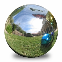 Handblown Glass Garden Globes - 12""