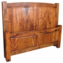 Handcrafted Mesquite Bed - King