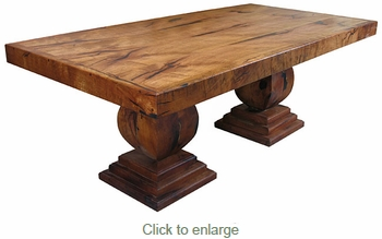 Handcrafted mesquite Kino Dining Table - 8 Foot
