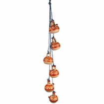 Hanging Southwest Clay Vases on String