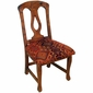 Harp Back Mesquite Dining Chair