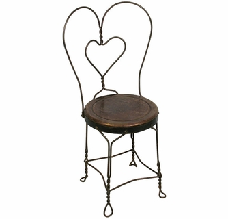 Superieur Ice Cream Parlor Chair
