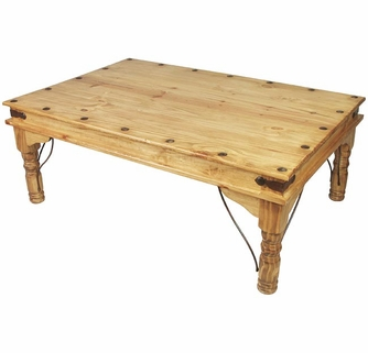 Indian Coffee Table Mexican Pine